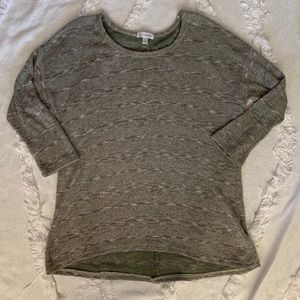 Charming Charlie 3/4 Sleeve Top - Size Small